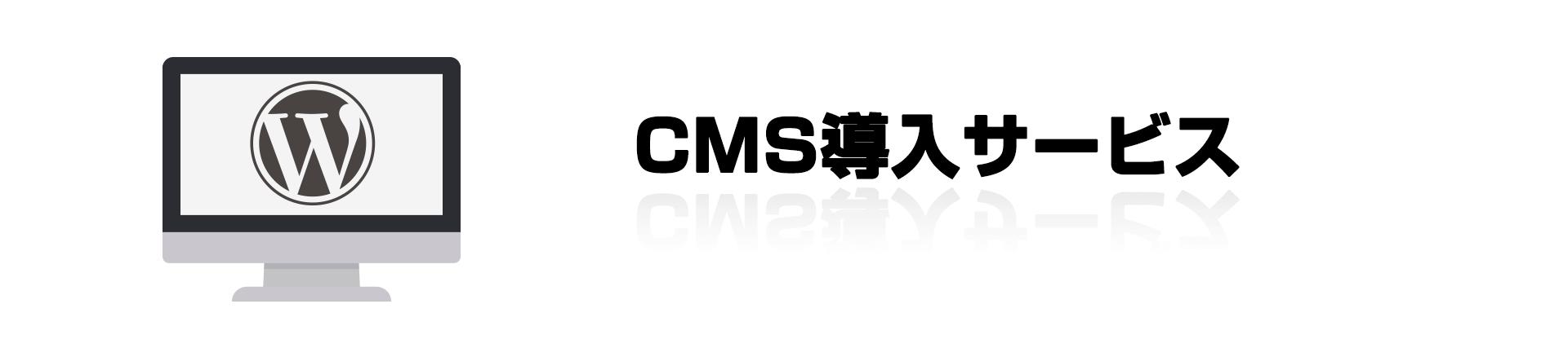 CMS導入サービス